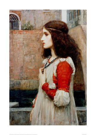 Juliet-John William Waterhouse-Giclee Print