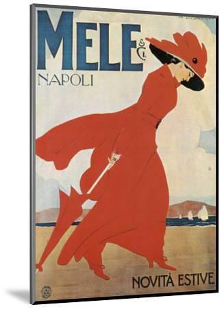 Mele II, Notive Estive--Mounted Art Print