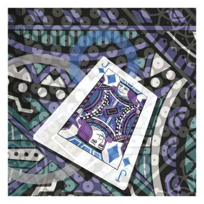 Jack of Diamonds-Jack Jones-Framed Art Print