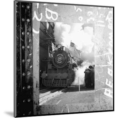 Old Train II--Mounted Art Print