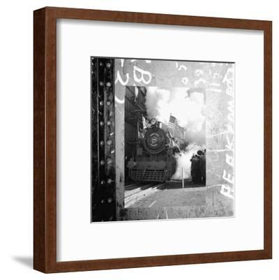 Old Train II--Framed Art Print