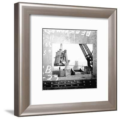 At the Port II--Framed Art Print