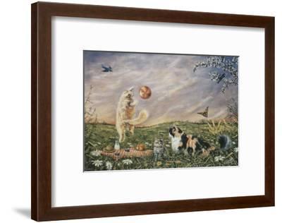 The Picnic-Jeanette Tr?panier-Framed Art Print
