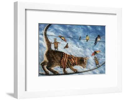 The Circus Performers-Jeanette Tr?panier-Framed Art Print