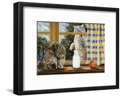 The Snack-Jeanette Tr?panier-Framed Art Print