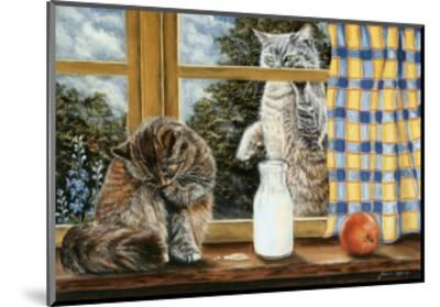 The Snack-Jeanette Tr?panier-Mounted Art Print