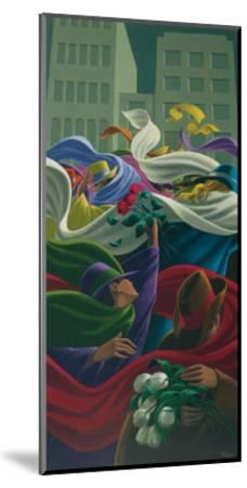 The Three Roses-Claude Theberge-Mounted Art Print