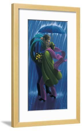 The Rain Shower-Claude Theberge-Framed Art Print