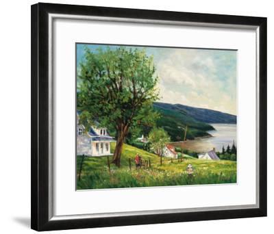 Summer in Charlevoix-Georges Dedoyard-Framed Art Print