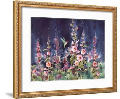 The Enchanted Hummingbird-Jean-yves Guindon-Framed Art Print