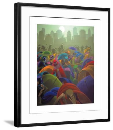 November Moon-Claude Theberge-Framed Art Print