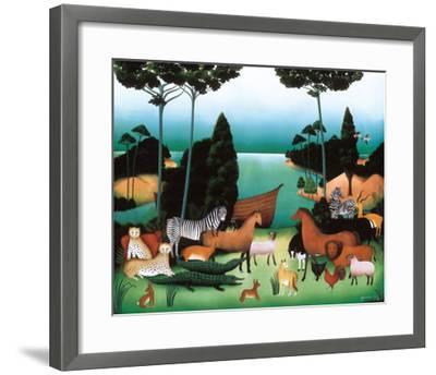After Us, the Flood-Genevi?ve Jost-Framed Art Print