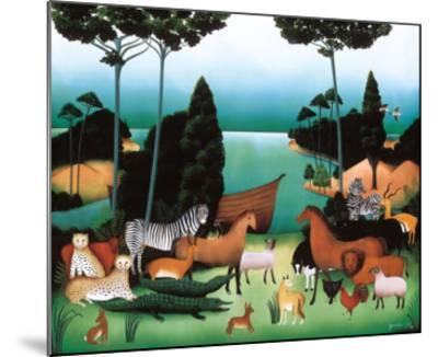 After Us, the Flood-Genevi?ve Jost-Mounted Art Print