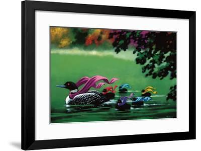 October Outings-Claude Theberge-Framed Art Print