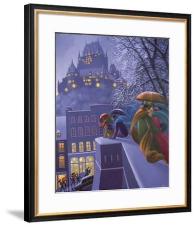 First Snow-Claude Theberge-Framed Art Print