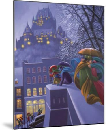 First Snow-Claude Theberge-Mounted Art Print