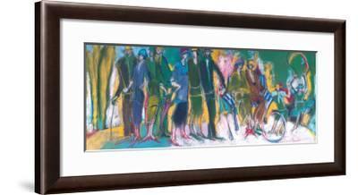 The Celebration in the Park-Marie Versailles-Framed Art Print