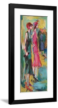 Invitation-Marie Versailles-Framed Art Print
