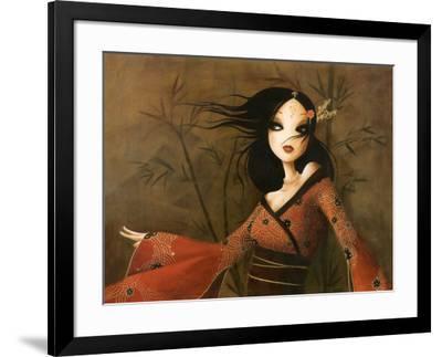 Bambous-Misstigri-Framed Art Print
