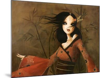 Bambous-Misstigri-Mounted Art Print