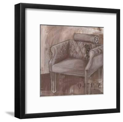 Fauteil Belle Epoque-Alexandra Breda-Framed Art Print