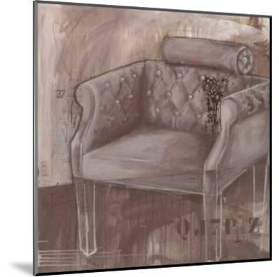 Fauteil Belle Epoque-Alexandra Breda-Mounted Art Print