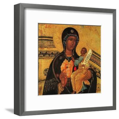 God's Mother Symbols--Framed Art Print
