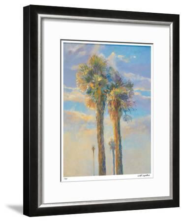 Palm Springs Sunset I-David Harris-Framed Giclee Print