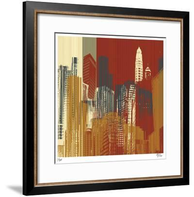 Urban Colors III-Mj Lew-Framed Giclee Print