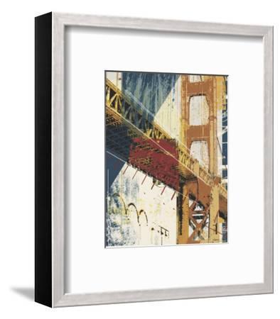 Into Manhattan I-Noah Li-Leger-Framed Art Print