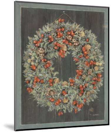 Couronne, Noix-Laurence David-Mounted Art Print