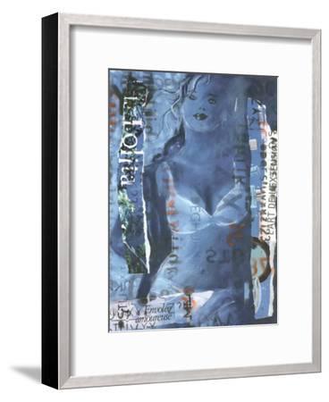 Lolita-Magassa-Framed Art Print