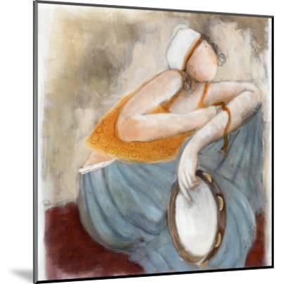 La Pose du Tambourin-Dom Dewalles-Mounted Art Print