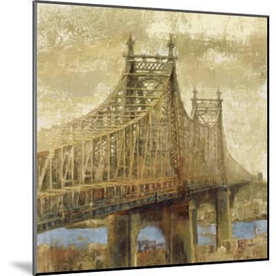 East River Bridge II-Michael Longo-Mounted Art Print