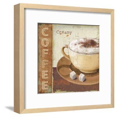 Coffee Lovers I-Lisa Audit-Framed Art Print