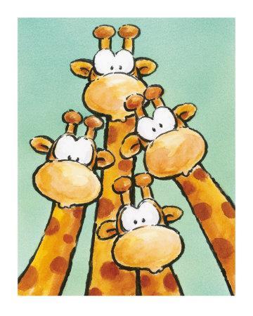 Funny Friends II-Jean Paul-Art Print