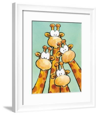 Funny Friends II-Jean Paul-Framed Art Print