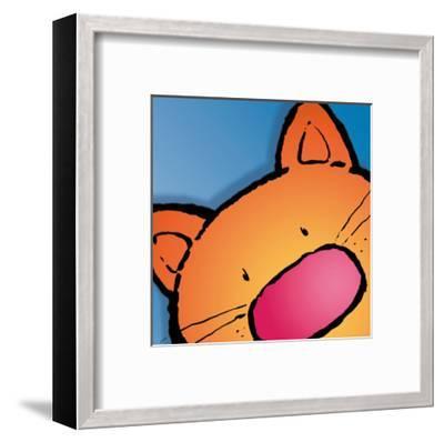 Cat-Jean Paul-Framed Art Print