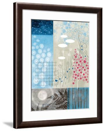 Frosty Moon II-Val Garcia-Framed Art Print