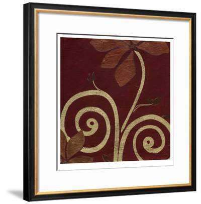 Cardamon Floral III-Erica J^ Vess-Framed Limited Edition