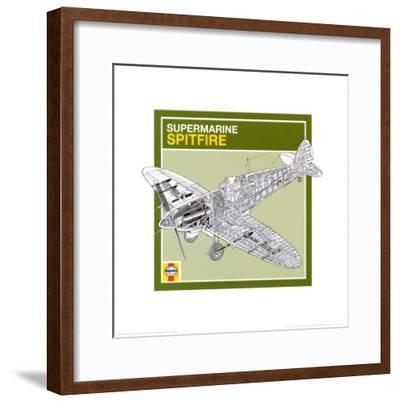 Haynes: Supermarine Spitfire--Framed Art Print