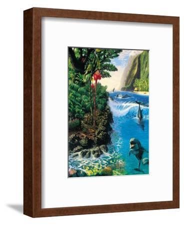Hawaiian Island Harmony-Andrew Annenberg-Framed Art Print