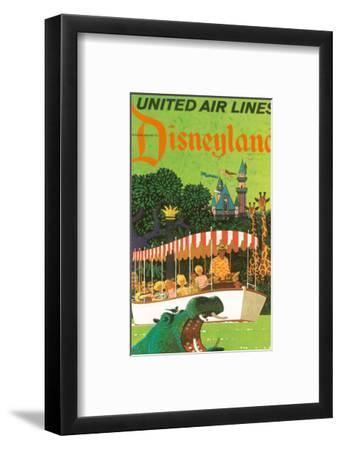 United Airlines Disneyland, Anaheim, California, 1960s-Stan Galli-Framed Art Print