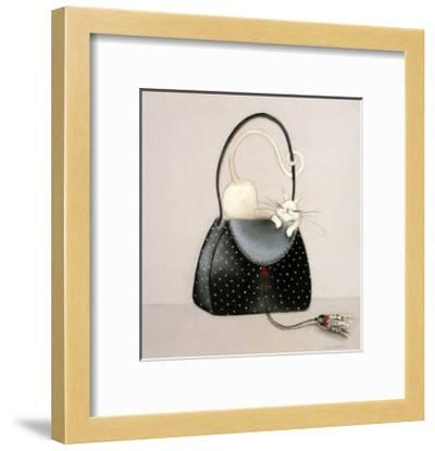 The Cat out of the Bag I-Marilyn Robertson-Framed Art Print