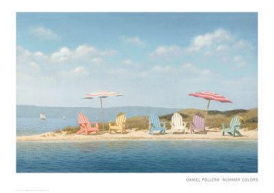 Summer Colors-Daniel Pollera-Art Print