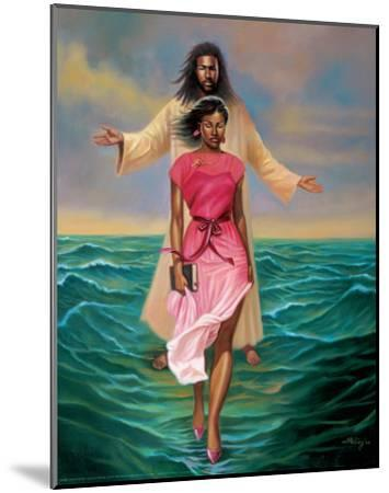 He Walks with M-Sterling Brown-Mounted Art Print