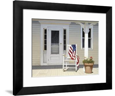 American Porch-Daniel Pollera-Framed Art Print