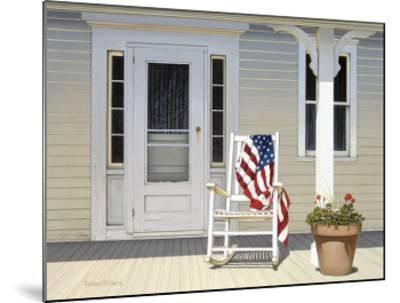 American Porch-Daniel Pollera-Mounted Art Print
