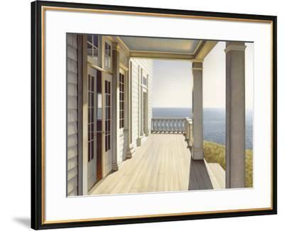 By the Sea-Daniel Pollera-Framed Art Print