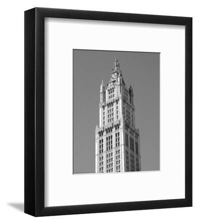 Woolworth Building, New York-Phil Maier-Framed Art Print